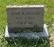 Profile photo:  Annie May <I>Parkhurst</I> Pushard
