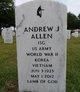 "Profile photo: Rev Andrew Jackson ""A.J."" Allen"