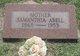 Samanthia Jane <I>Searcy</I> Abell