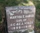Profile photo:  Martha E <I>Ickes</I> Aaron