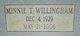 Minnie T Willingham
