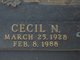Profile photo:  Cecil N Colwell