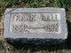 """Profile photo:  Benjamin Franklin """"Frank"""" Ball"""