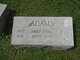 "Profile photo:  Annie Jane ""Jennie"" Adams"
