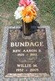 Profile photo:  Aaron B Bundage