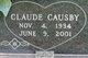 "Profile photo:  Claude Causby ""Sweet Pea Papa"" Barnette"