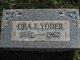 Ora Edna <I>Heckert</I> Yoder