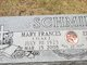 Mary Frances <I>Flax</I> Schmidt