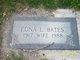 Profile photo:  Edna <I>Larson</I> Bates