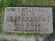 Profile photo:  Anney Belle <I>Hollis</I> Brooks