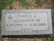 Profile photo:  Charlie A Alexander, Sr