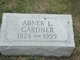 Profile photo:  Abner L. Gardner