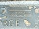 "Profile photo:  Winifred Ellen ""Winnie"" <I>Stone</I> George"