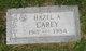 Hazel A <I>Noel</I> Carey