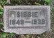 """Isabella """"Sibbie"""" <I>Story</I> McClarran"""