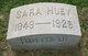 Sara <I>Huey</I> Story