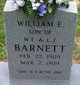 Profile photo:  William E. Barnett