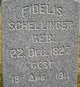 Profile photo:  Fidelis Schellinger