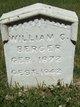 William C Berger