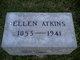 Profile photo:  Ellen <I>Rosson</I> Atkins