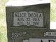 Alice Deola <I>Clark</I> Adams