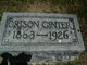 Orison Ginter