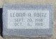 Leona Ada Abitz