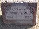 Profile photo:  Adelia V <I>Harding</I> Ferguson