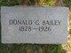 Donald George Bailey