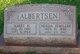Profile photo:  Albert H Albertsen