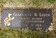 Genevieve R <I>Lewis</I> Leech