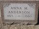 Anna Marie <I>Palmsteen</I> Anderson
