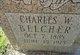 Charles W. Belcher