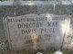 Dorothy Mae Davis