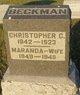 Christopher Columbus Beckman