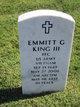 Profile photo:  Emmitt G King, III