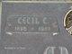 Cecil C Adams