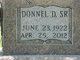 "Donnel Duane ""Don"" Adams, Sr"