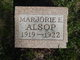 Profile photo:  Marjorie E. Alsop