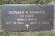 Donald Gerard Hedrick