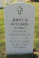 Profile photo:  John D. Brevard