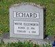 Profile photo:  Wayne Ellesworth Echard