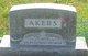 Profile photo:  Ada E. <I>Crees</I> Akers