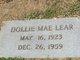 Dollie Mae Lear