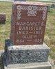 Margaret Ella <I>Howard</I> Banister
