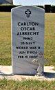 Profile photo:  Carlton Oscar Albrecht