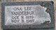Ona Lee <I>Graves</I> Vanderbur