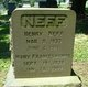 "Mary Frances ""Frances"" <I>Sprankle</I> Neff"
