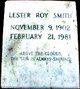 Lester Roy Smith