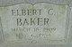 Elbert Clifford Baker